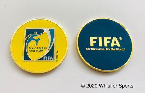 FIFA Fair Play Referee Flip Coin