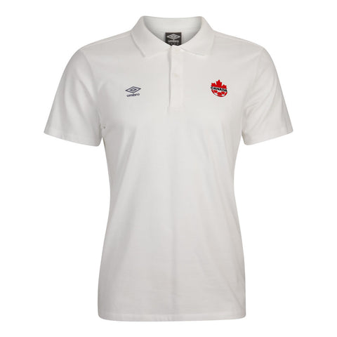 Umbro CSA Polo Shirt - White