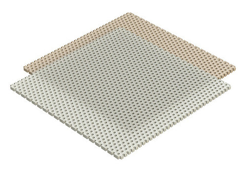 "Thermoplast 3x3"" Squares"