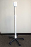 Tall OR Canister Stand with Universal Brackets 52""