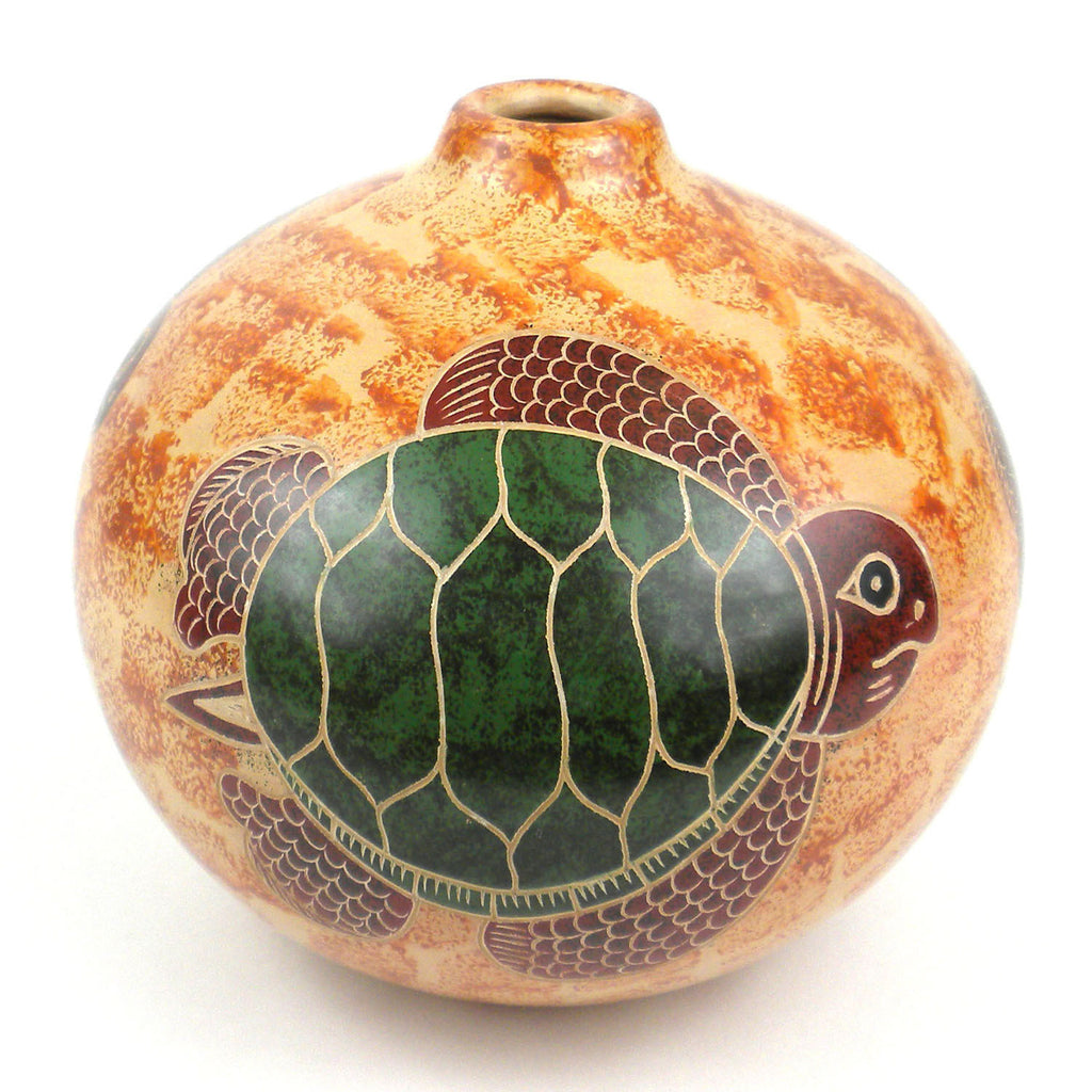 4 inch tall vase turtle on sand handmade and fair trade arana 4 inch tall vase turtle on sand handmade and fair trade reviewsmspy