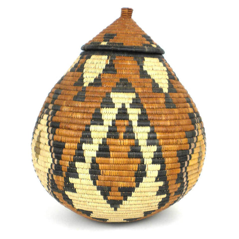 Zulu Wedding Basket -OS-07 - Ilala Weavers