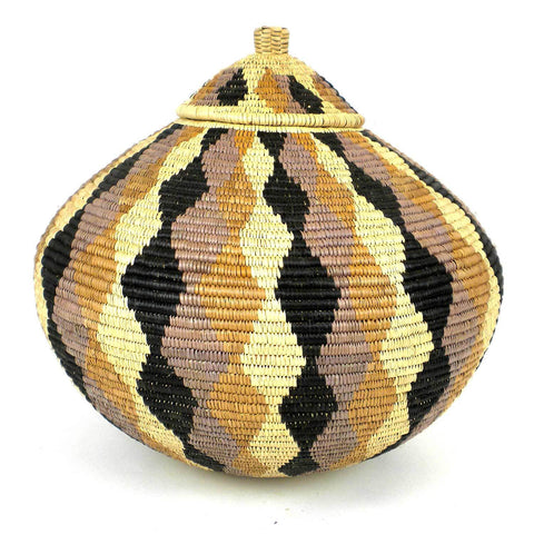 Zulu Wedding Basket -OS22 - Ilala Weavers