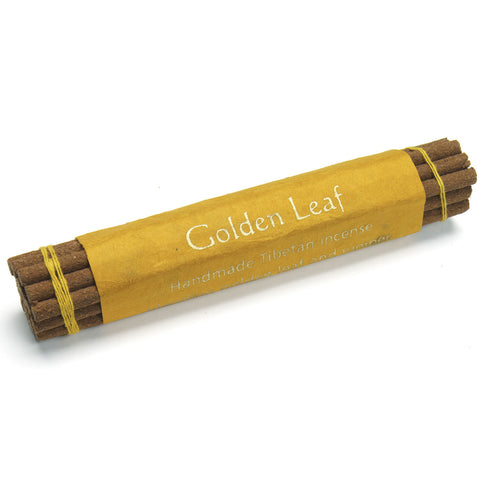 Incense Tibetan Bundle, Golden Leaf - Tibet Collection