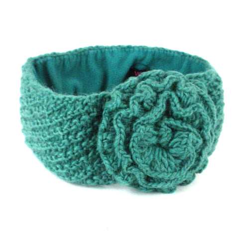 Lined Posy Headband - Pool - WorldFinds (W)