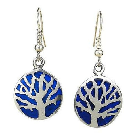 Tree of Life Earrings Handmade and Fair Trade