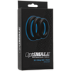 Doc Johnson - Optimale 3 Cock Ring Set Thick (Black)