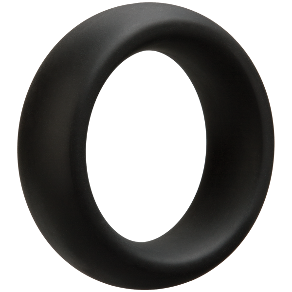 Doc Johnson - Optimale Cock Ring Thick 40mm (Black) - PleasureHobby