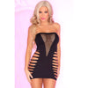 Pink Lipstick - Shred The Bed Seamless Dress Costume OS (Black)