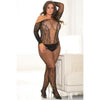 Rene Rofe - Make You Melt Bodystocking Costume Queen (Black)