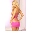 Pink Lipstick - Seamless Web Tub Dress Costume OS (Pink)
