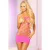 Pink Lipstick - Seamless Web Tub Dress Costume OS (Pink) Costumes PleasureHobby