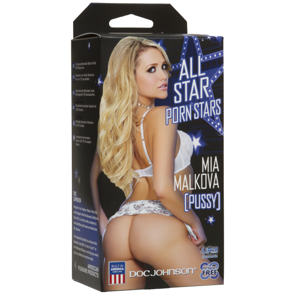 Doc Johnson - All Star Porn Stars Mia Malkova Pussy Masturbator - PleasureHobby