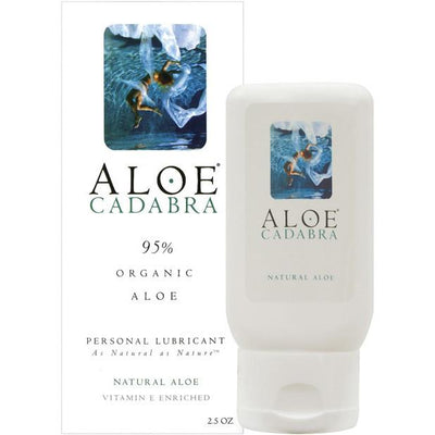 Aloe Cadabra - Organic Lubricant Natural 2.5 oz - PleasureHobby