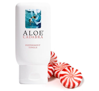 Aloe Cadabra - Organic Lubricant Peppermint Tingle 2.5 oz Cooling Lube PleasureHobby