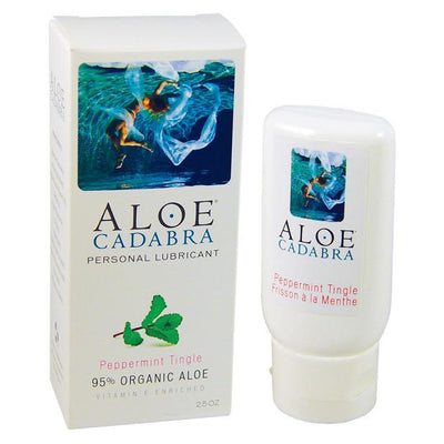 Aloe Cadabra - Organic Lubricant Peppermint Tingle 2.5 oz - PleasureHobby