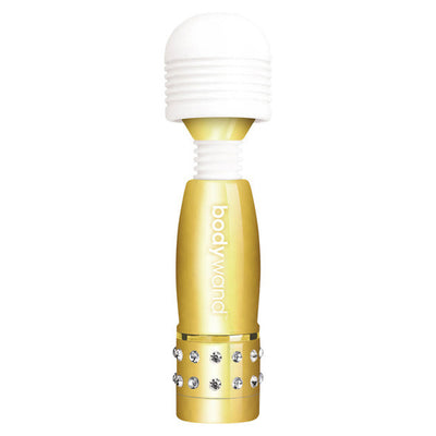 Bodywand - Mini Wand Massager (Gold) Mini Wand Massagers (Vibration) Non Rechargeable PleasureHobby