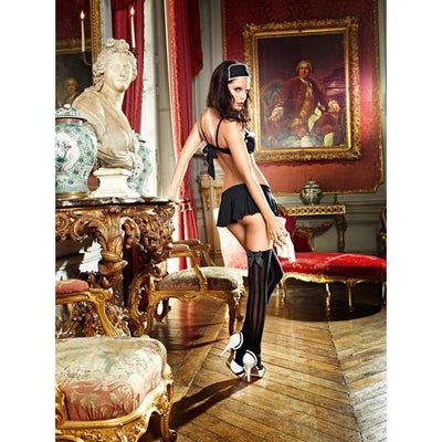Baci - Dirty Laundry French Maid Costume Set Medium/Large - PleasureHobby