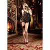 Baci - Lace Babydoll Lingerie One Size (Black) - PleasureHobby
