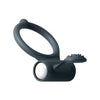 Dorcel - Power Clit Vibrating Cock Ring (Black) - PleasureHobby