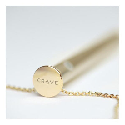 Crave - Vesper Vibrator Necklace (Gold) - PleasureHobby