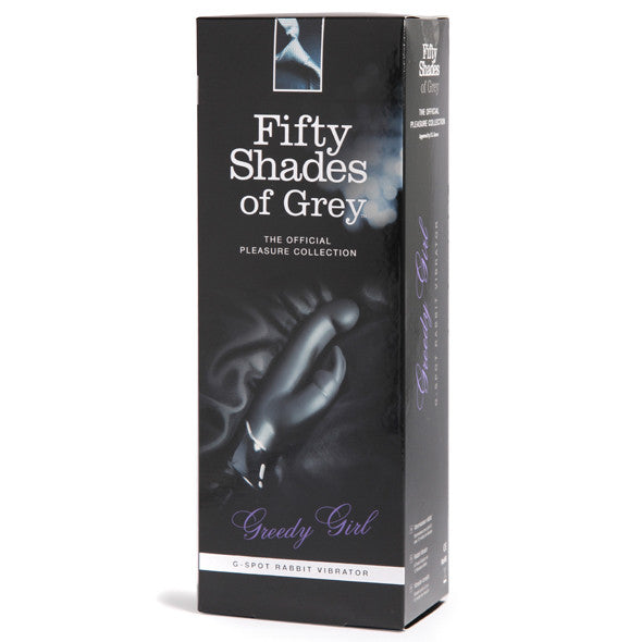 Fifty Shades of Grey - Greedy Girl G-Spot Rabbit Vibrator - PleasureHobby Singapore