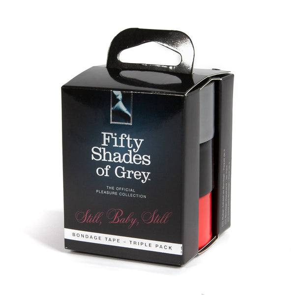 Fifty Shades of Grey - Still, Baby, Still Bondage Tape Triple Pack - PleasureHobby Singapore