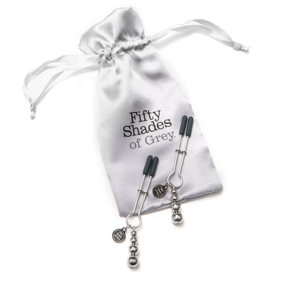 Fifty Shades of Grey - The Pinch Adjustable Nipple Clamps - PleasureHobby Singapore