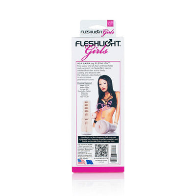 Fleshlight - Fleshlight Girls Asa Akira Lotus Masturbator - PleasureHobby Singapore