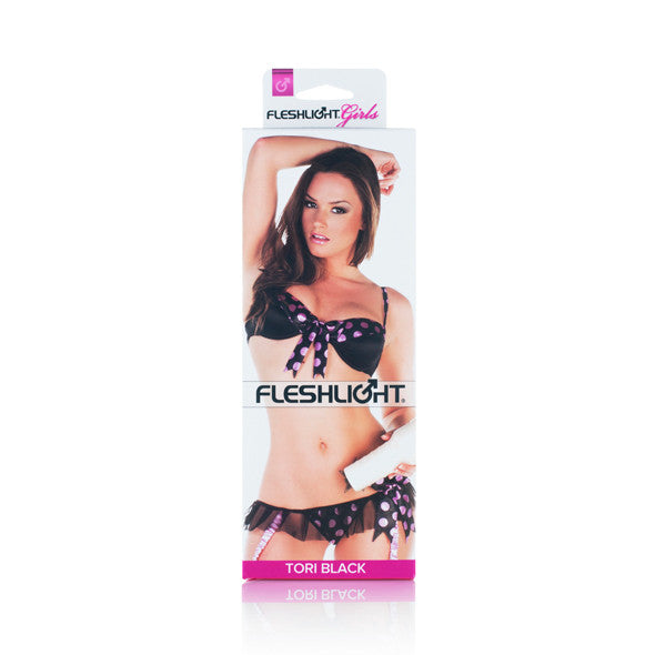 Fleshlight - Fleshlight Girls Tori Black Lotus Masturbator - PleasureHobby Singapore