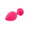 Fun Toys - Gplug Butt Plug Small (Neon Rose) - PleasureHobby