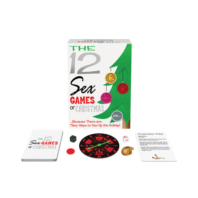 Kheper Games - The 12 Sex Games of Christmas Games PleasureHobby