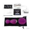 LELO - Hula Beads Remote Control Kegel Balls (Deep Rose) - PleasureHobby