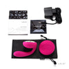 LELO - Ida Remote Control Couple's Vibrator (Cerise) - PleasureHobby