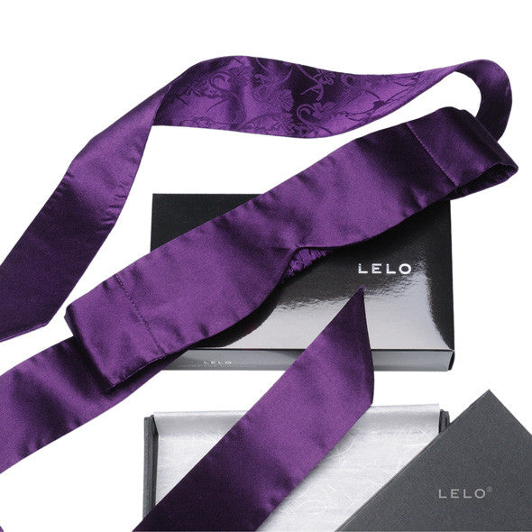 LELO - Intima Silk Blindfold (Purple) - PleasureHobby