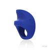 LELO - Pino Vibrating Cock Ring with Cufflinks and Clip (Blue) - PleasureHobby