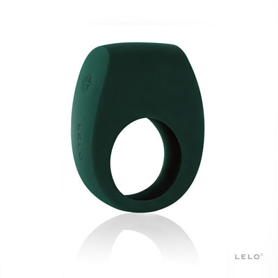 LELO - Tor 2 Vibrating Cock Ring (Green) Silicone Cock Ring (Vibration) Rechargeable PleasureHobby