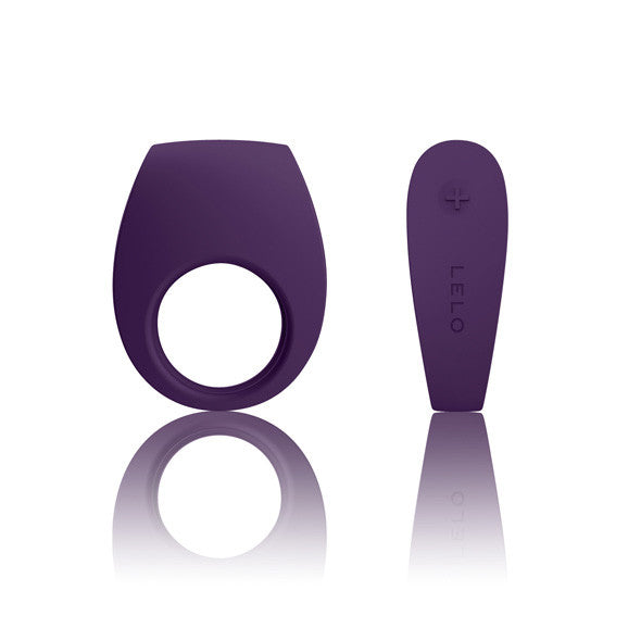 LELO - Tor 2 Vibrating Cock Ring (Purple) - PleasureHobby Singapore