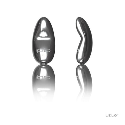 LELO - Yva Vibrating Clit Massager (Silver) Clit Massager (Vibration) Rechargeable PleasureHobby
