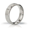 Mystim - His Ringness The Duke Stainless Steel Cock Ring 48mm (Polished) - PleasureHobby