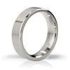Mystim - His Ringness The Duke Stainless Steel Cock Ring 51mm (Polished) - PleasureHobby