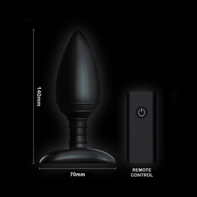 Nexus - Ace Wireless Remote Control Vibrating Butt Plug - PleasureHobby