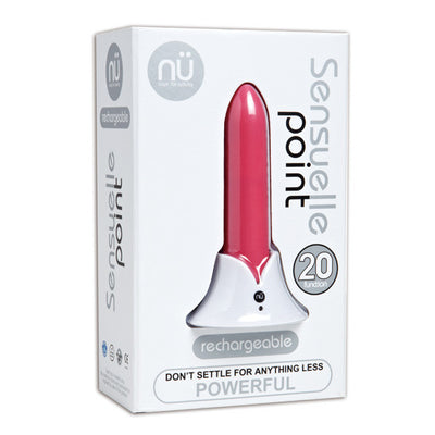 NU - Sensuelle Point Rechargeable Bullet Vibrator (Pink) - PleasureHobby