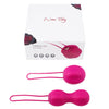 Nomi Tang - IntiMate Kegel Balls Set (Red Violet) - PleasureHobby