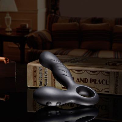 Nomi Tang - Spotty Prostate Massager (Black) - PleasureHobby