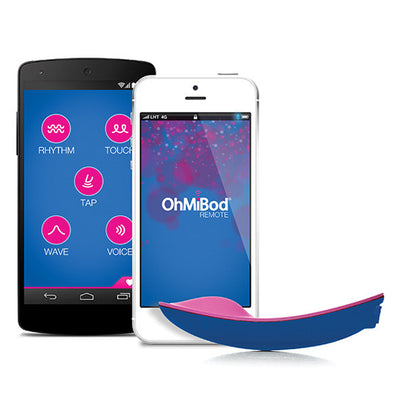 OhMiBod - Bluemotion App Controlled Massager Panties Massager Remote Control (Vibration) Rechargeable PleasureHobby