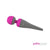 PowerBullet - Palmpower Wand Massager (Fuchsia/Grey)