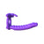 Pipedream - Fantasy C-Ringz Silicone Double Penetrator Rabbit Strap On