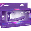 Pipedream - Fantasy C-Ringz Silicone Double Penetrator Rabbit Strap On - PleasureHobby