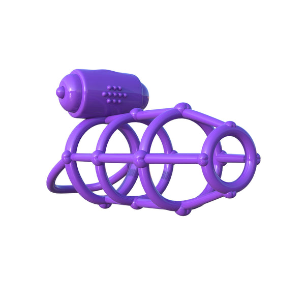 Pipedream - Fantasy C-Ringz Vibrating Climax Cock Cage - PleasureHobby